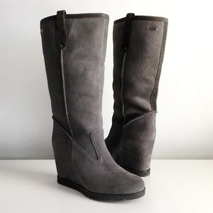 UGG Shoes - UGG | New 'Soleil' Suede Wedge Boots
